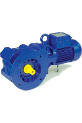 Bevel-Geared Motor BK Series