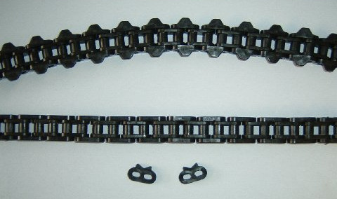 "½"" PITCH ACETAL PLASTIC CHAIN"
